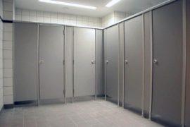 Перегородки в туалете