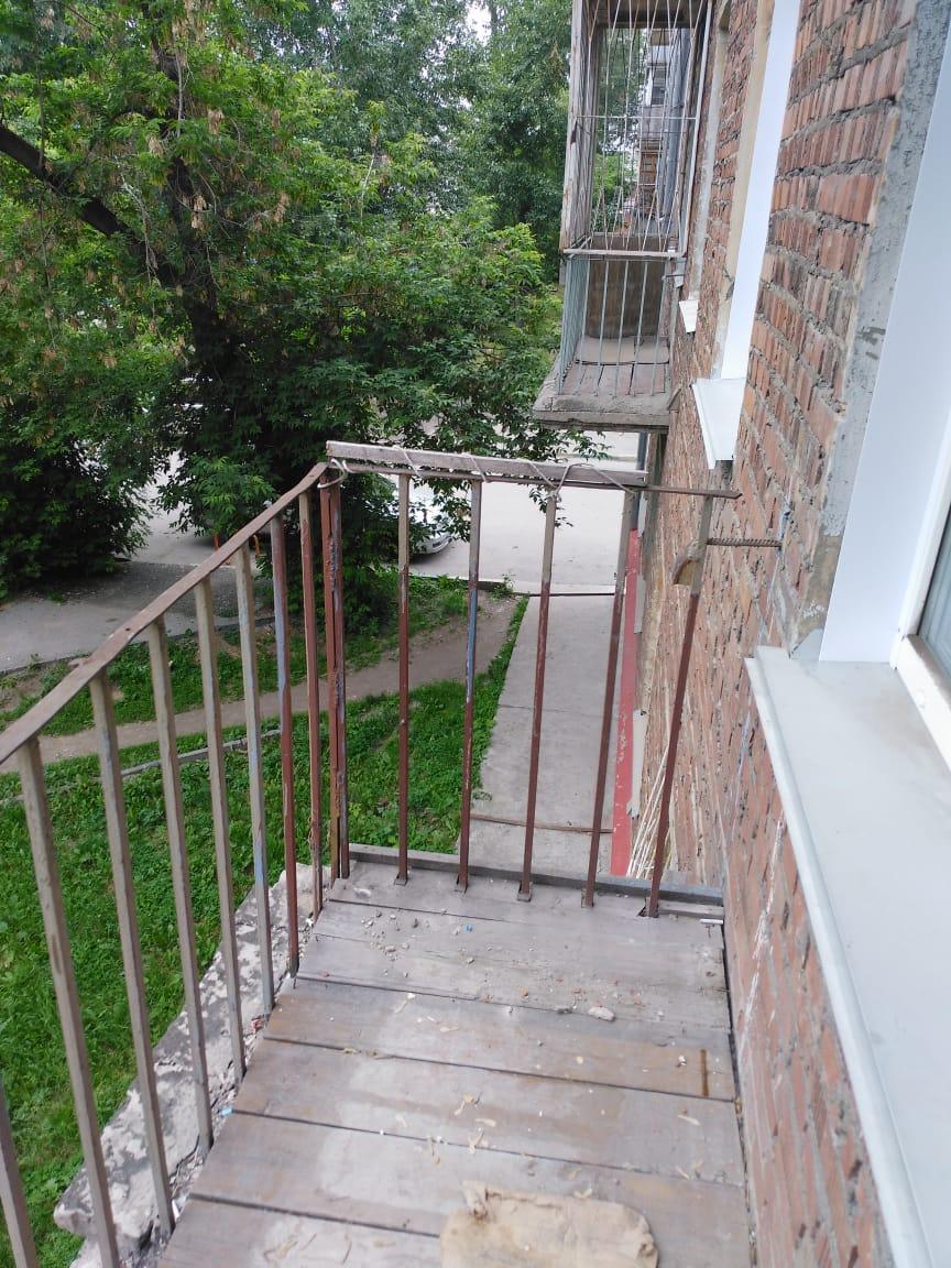 Балкон без окон