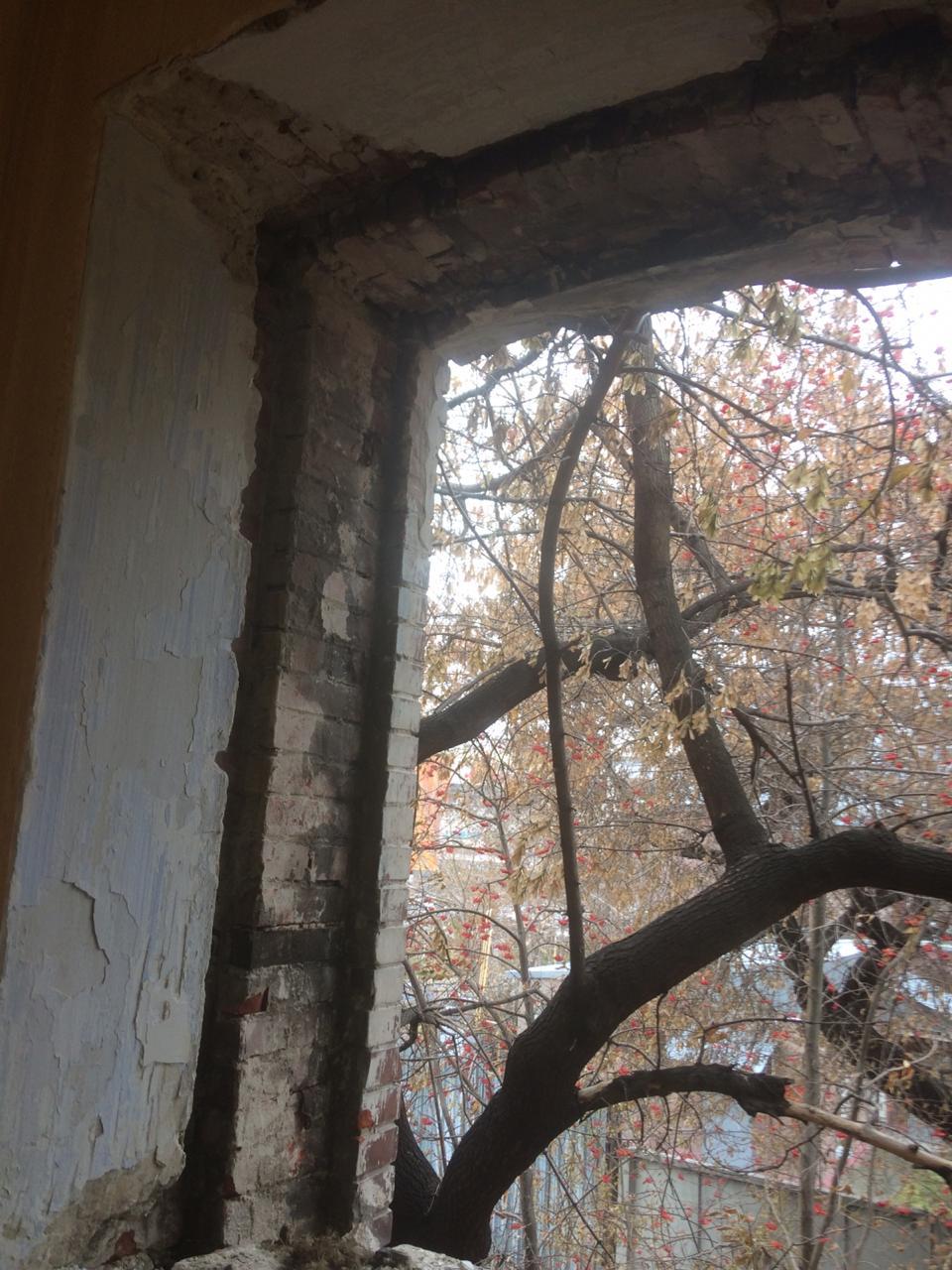 Проем без окна
