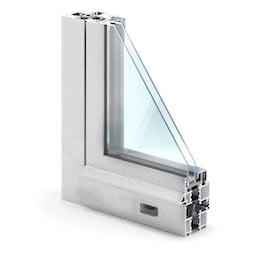 Профиль дверь алюминиевая премиум