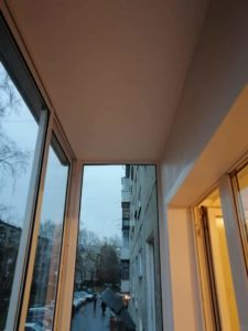 Алюминиевый балкон